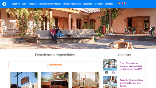 Web Cámara de turismo
